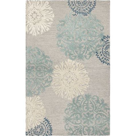 Blue Floral Area Rug Rizzy Rugs Dimensions Light Gray Blue Floral Area Rug Reviews Wayfair New Living Room
