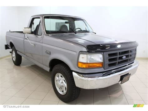 ford opal light opal metallic 1996 ford f250 xl regular cab exterior