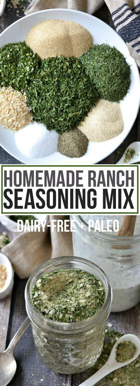 Diy Dry Ranch Mix