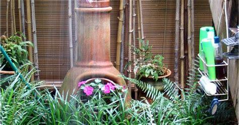 Handmade Chiminea - chiminea plants handmade chimineas crafted clay