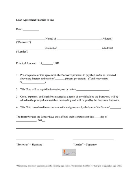 promise to pay agreement template the best cover letter