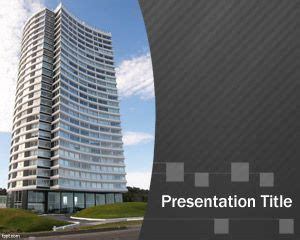 Architecture Presentation Template by Free Architect Powerpoint Template