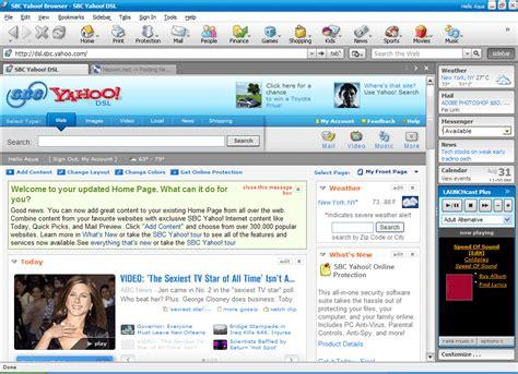 yahoo web browser yahoo browser 5 0 verizon yahoo for dsl back page