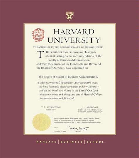 Psychology And Mba Program Harvard by Custom Diploma Frames Certificate Frames Framing