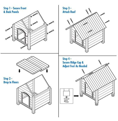 simple dog house design how to build a pallet dog house in a perfect manner