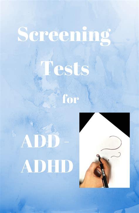 test adhd adhd screening tests adhd in children adhd