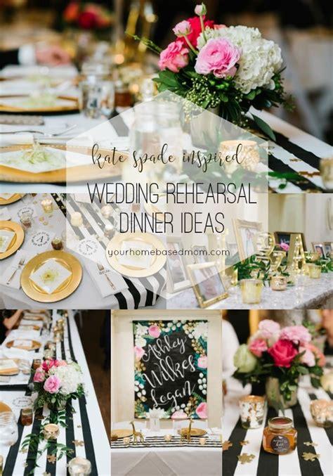 wedding rehearsal dinner ideas your homebased