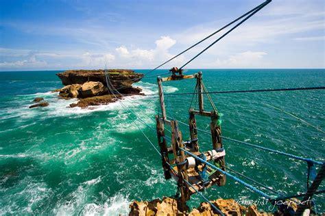 gondola pantai timang yogyakarta indonesia