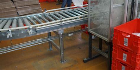 matratzen 2 20m lang knapp moving angetriebene rollenbahn rollenf 246 rderer bj2013