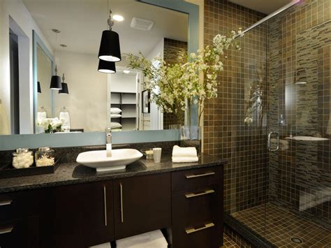 black and white bathroom decor ideas hgtv pictures
