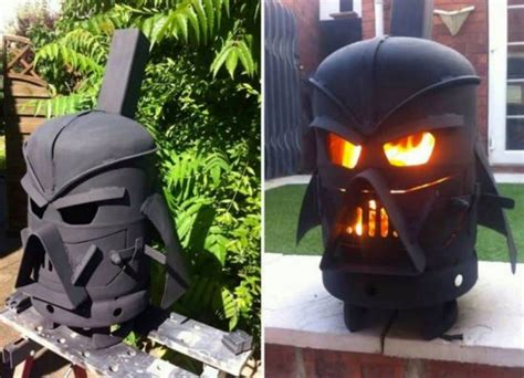 diy darth vader pit pit ideas diy outdoor living that won t the bank