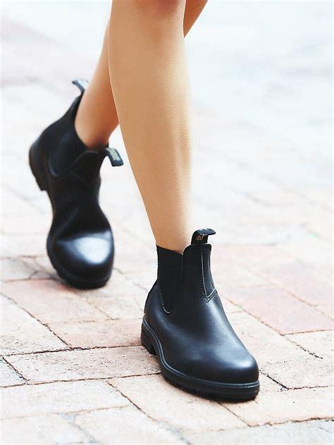 lyst free blundstone womens blundstone boot in black