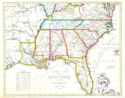 map of southeast usa interactive map of southeast us keysub me