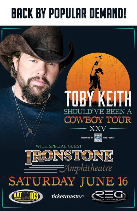 toby keith popular songs back by popular demand toby keith returns to ironstone
