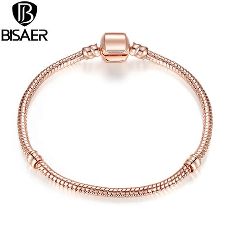 aliexpress buy bisaer new gold snake chain link