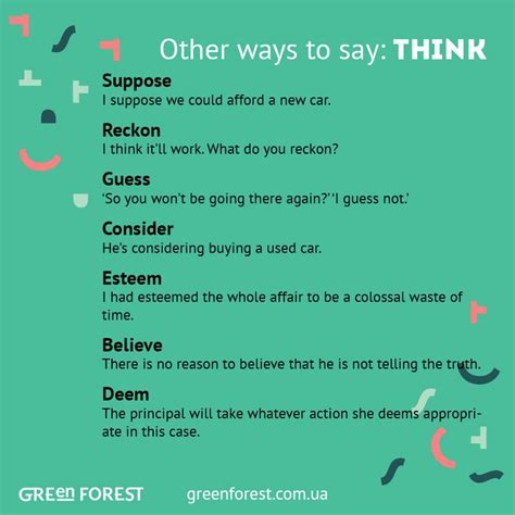 7 Easy Ways To Say I Forgive by Synonyms To The Word Think Other Ways To Say Think Other