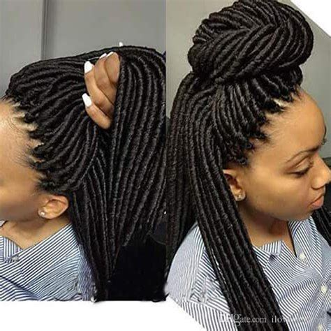 can i use human hair for faux locs 8 stunning ways to style your faux locs black white nation