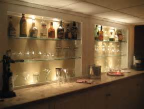 bar regale glass bar shelves bar ideas shelves glass