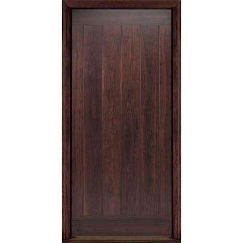 Walnut Exterior Door Black Walnut Front Doors Exterior Doors The Home Depot