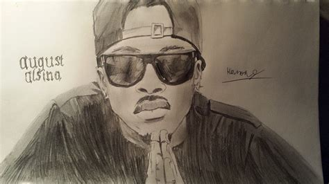august painting and drawing motionista august alsina by gaming master on deviantart