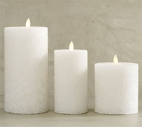 home design nice white flameless pillar candles for your premium flicker flameless sugar pillar candle white