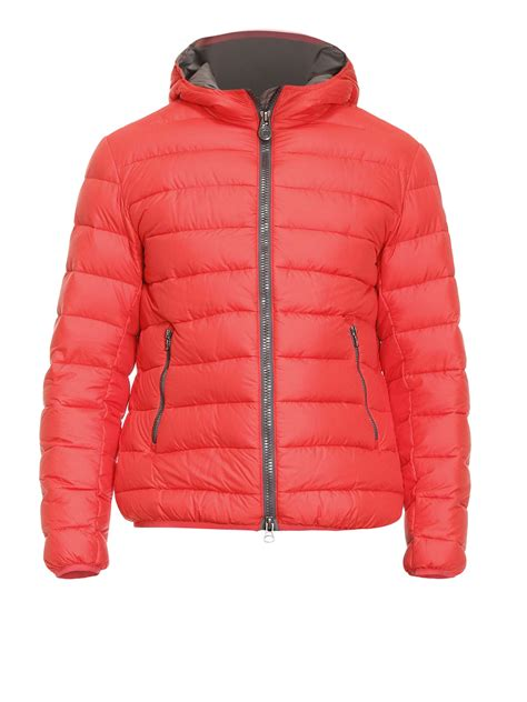 quilted padded jacket hooded quilted padded bomber jacket by colmar originals