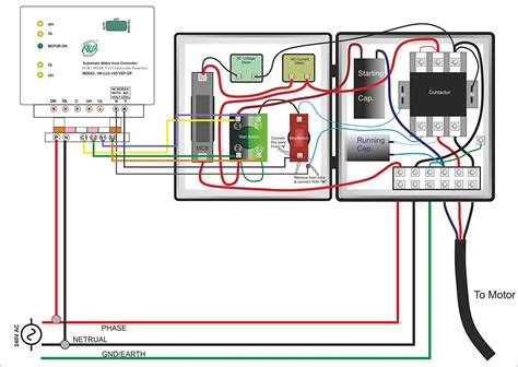 220 submersible wiring diagram well submersible