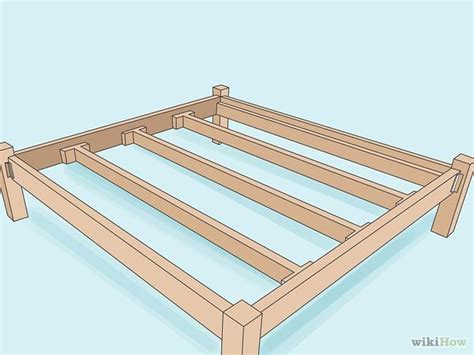 How To Make A Wooden Bed Frame Build A Wooden Bed Frame Lag Bolts Places And The O Jays
