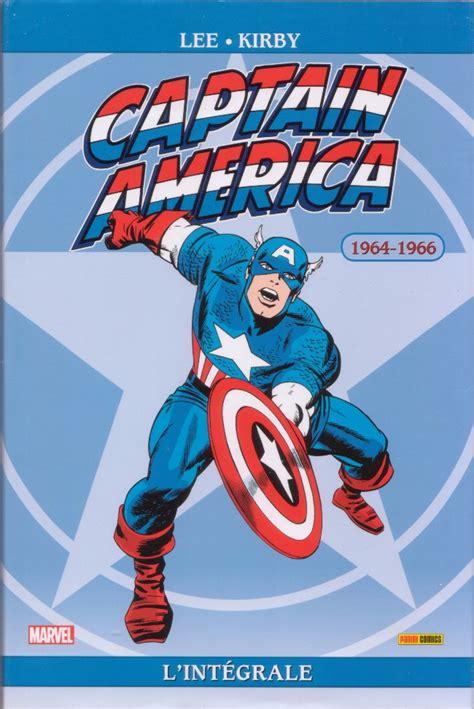captain america l int 233 grale 1 l int 233 grale 1964 1966