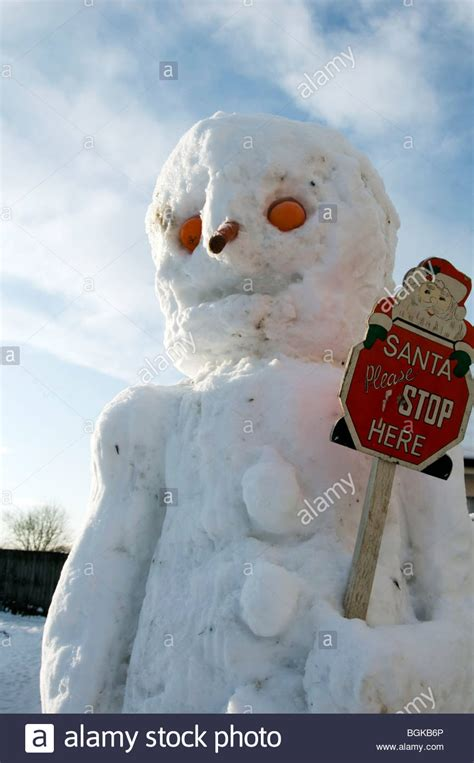 Cold Weather Shopping by Snow Snowman Snowmen Big Freeze Cold Weather