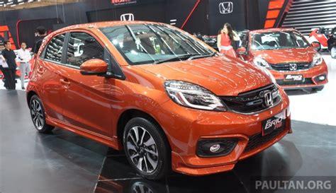 Honda Brio Rs 2017 giias 2017 honda brio rs cvt special edition debuts