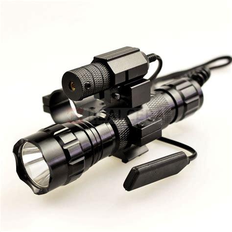 Laser Rifle Scope Whit Flashlight Tactical tactical dot laser sight aluminum laser sight scope