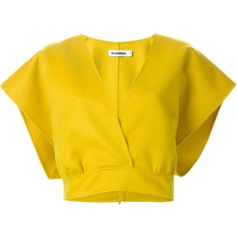 Top Yellow by 1000 Ideas About Wrap Shirt On Wrap Tops