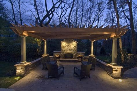 Pergola Lighting Outdoor Accents Lighting Backyard Lights On Pergola