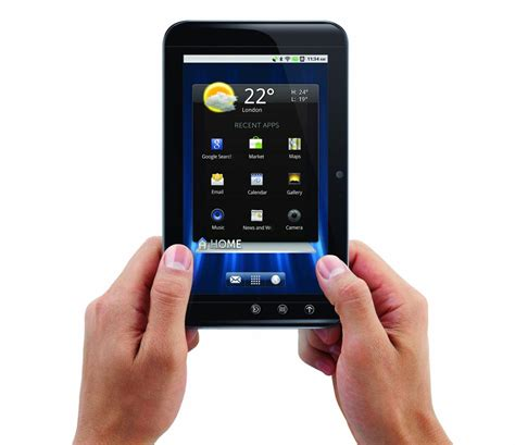 dell android tablet dell streak 7 wi fi android tablet gadgetsin