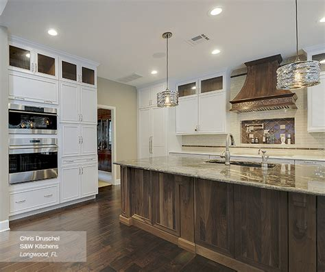 walnut kitchen island white cabinets with a walnut kitchen island omega