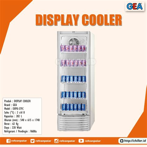 Showcase Gea Expo 1500ah jual expo 37fc display cooler brand gea harga murah di