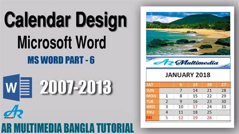 how to make a professional calendar word calendar how to create a professional calendar in