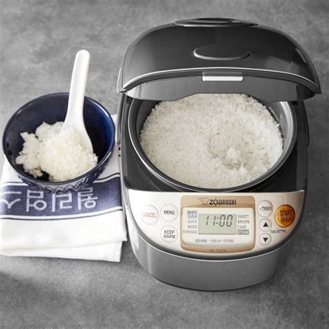 Rice Cooker Zojirushi zojirushi rice cooker williams sonoma