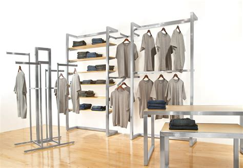 Wardrobe Fixtures by Alta Clothing Display Racks Clothes Table Displays Accessories Wholesale Discount