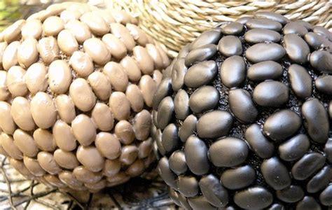 decorative bean balls the magical fruit pinto bean decor balls tutorial house