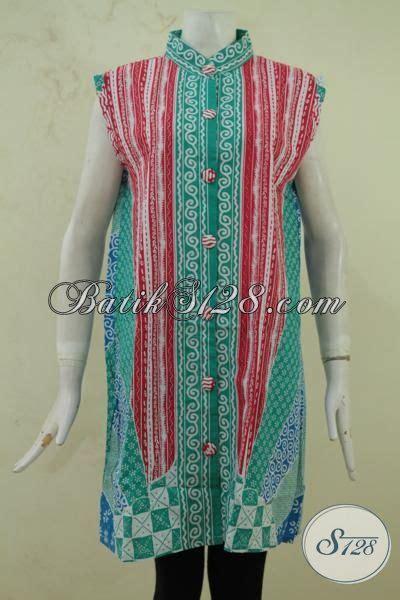 Atasan Batik Katun Tanpa Lengan Atasan Batik Tanpa Lengan Model Balero Baju Batik Gaul