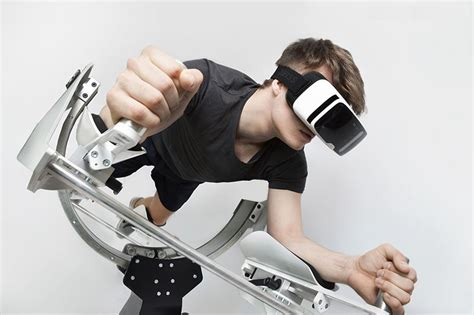 designboom virtual reality a vr empowered workout station created by german design