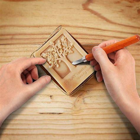 set carbon steel wax wood carving tools knife kit
