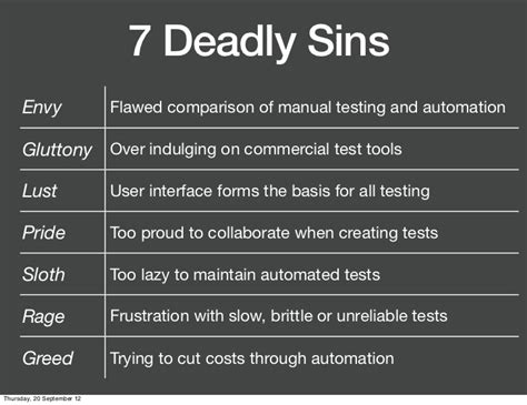 7 Common Sins by 7 Deadly Sins And Meanings Autos Post