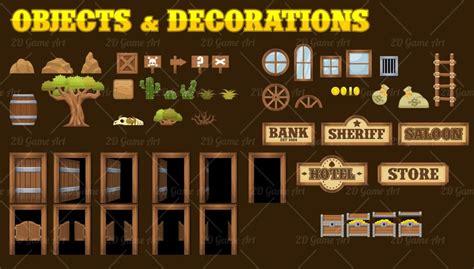 Indian Decorations For Home Wild West Platformer Tileset Game Art 2d