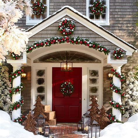 christmas styles pottery barn for the home pinterest