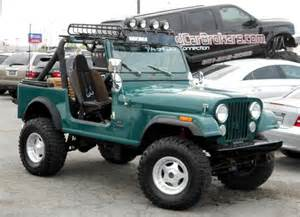 Jeep Custom On The Road With Zoom Custom 1985 Jeep Cj 7 One Of A