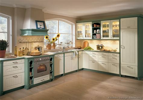 pictures of kitchens traditional two tone kitchen cabinets page 4