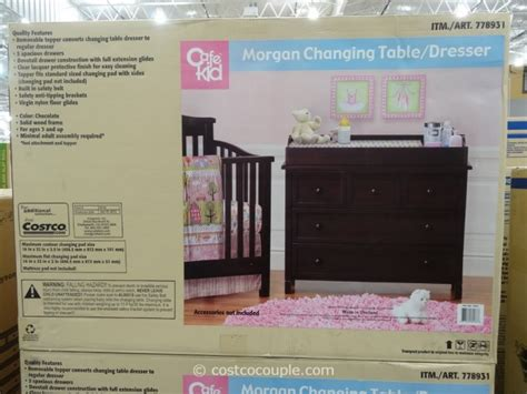 cafe kid desk costco cafe kid changing table dresser